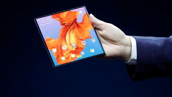 Mobile World Congress 2019: Huawei presentó el Mate X, su teléfono con pantalla plegable y conectividad 5G