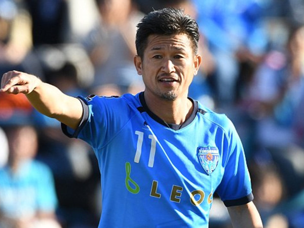 Kazuyoshi Miura, el record guinness japonés, seguirá jugando al fútbol hasta los 52 años