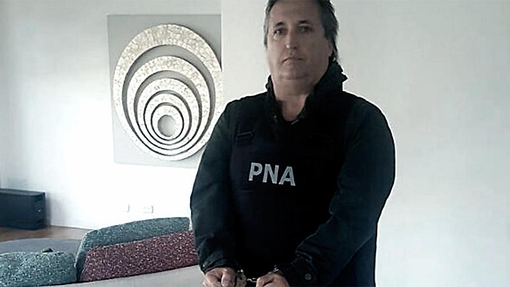 Se entregó el empresario Núñez Carmona