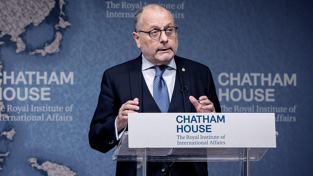 """Faurie advirtió que la decisión sobre Chagos tiene """"similitud con Malvinas"""""""