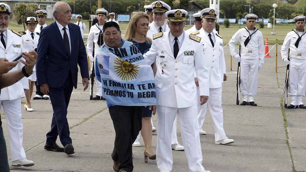 Realizaron un homenaje por el segundo aniversario del hundimiento del ARA San Juan