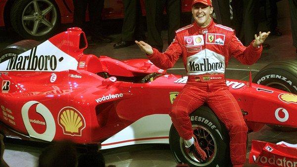 Subastaron en más de U$S 6 millones una Ferrari de Schumacher y usarán parte de lo recaudado para su recuperación