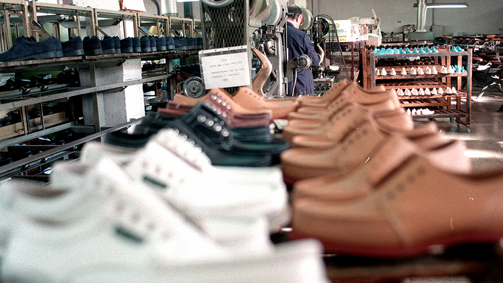 La industria del calzado cayó un 10% en los primeros diez meses del 2019