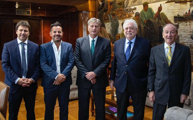 Mario Kohan se reunió con Ginés González