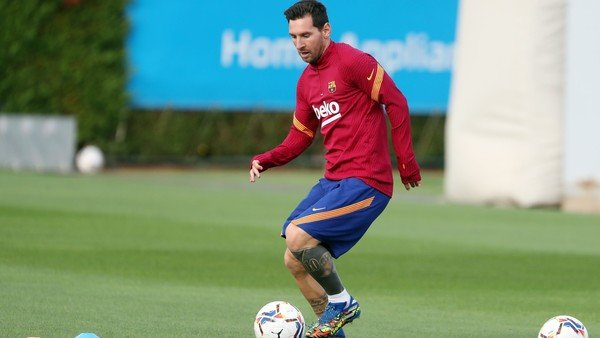 Lionel Messi y una semana súper cargada: seis entrenamientos, dos partidos y un viaje a la Argentina
