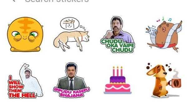 WhatsApp prueba un renovado buscador de stickers para los chats
