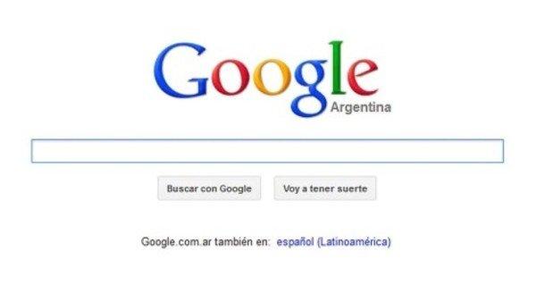 Se cayó Google Argentina el día que vencía el dominio