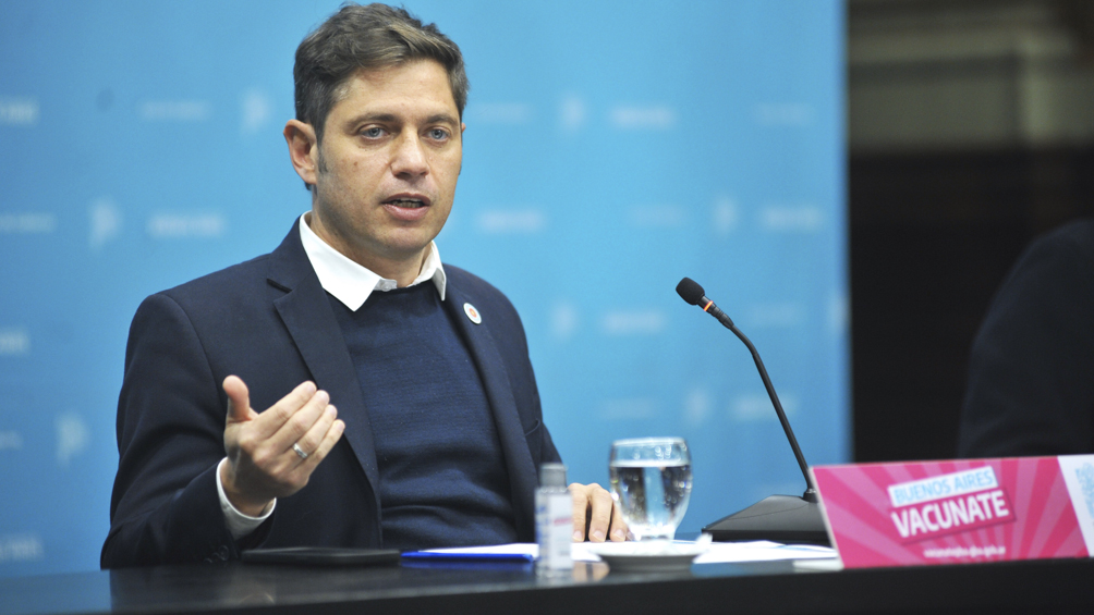 Kicillof tomará juramento a los nuevos ministros bonaerenses